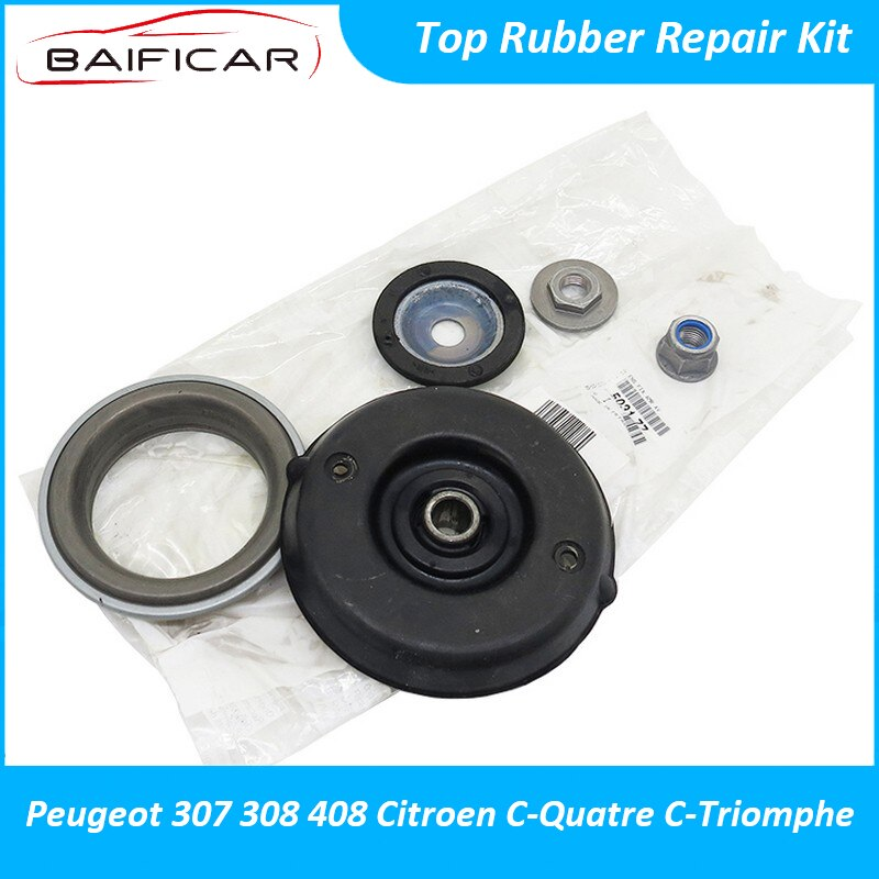 Baificar Brand New Genuine Front Shock Absorber Top Rubber Repair Kit Parts For Peugeot 307 308 408 Citroen C-Quatre C-Triomphe