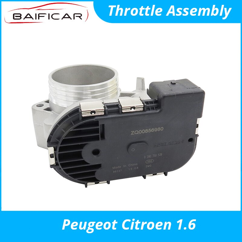 Baificar Brand New Genuine Throttle Assembly Body for Peugeot 206 207 307 308 408 Citroen C2 C-Quatre C-Elysee 16V 1.6