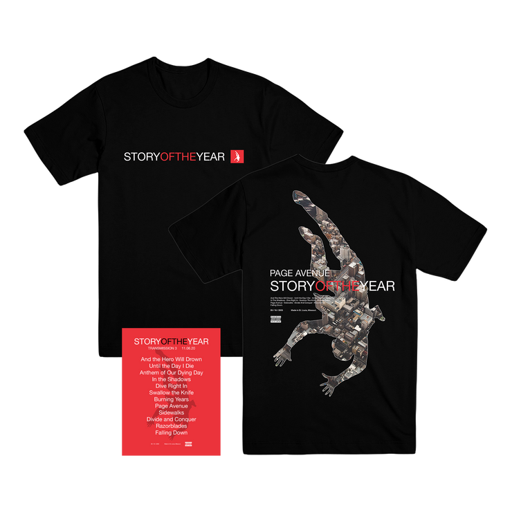 T3 Exclusive Merch Bundle (with signed set list - limited to 100)