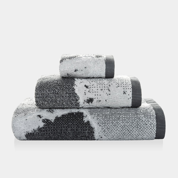 Marble Silver Towel