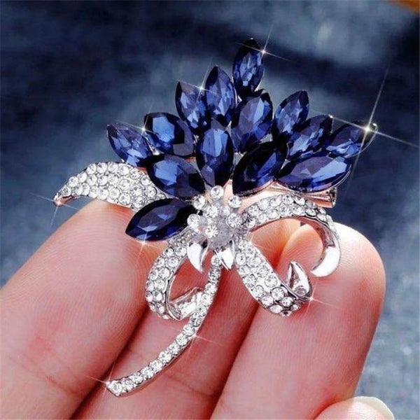 Elegant Retro Crystal Pins Brooch freeshipping - looksCares