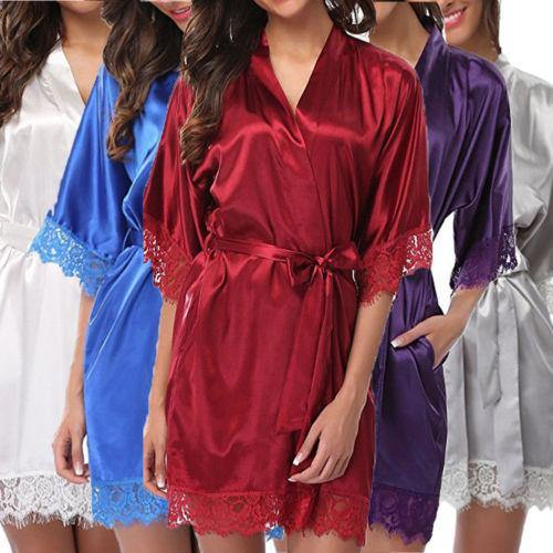 Night Mini Dress Sleepwear freeshipping - looksCares