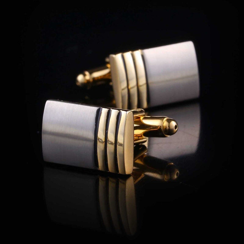 Perfect Gold Plated Cufflinks freeshipping - looksCares