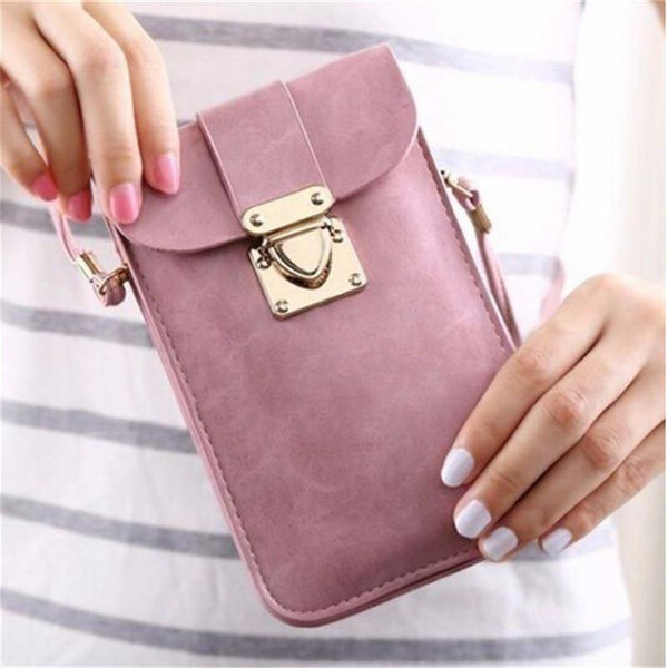 Mini Cell Cellphone Messenger Bag freeshipping - looksCares