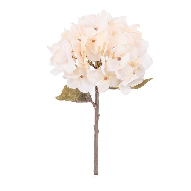 Artificial Hydrangea Branch Flower freeshipping - looksCares