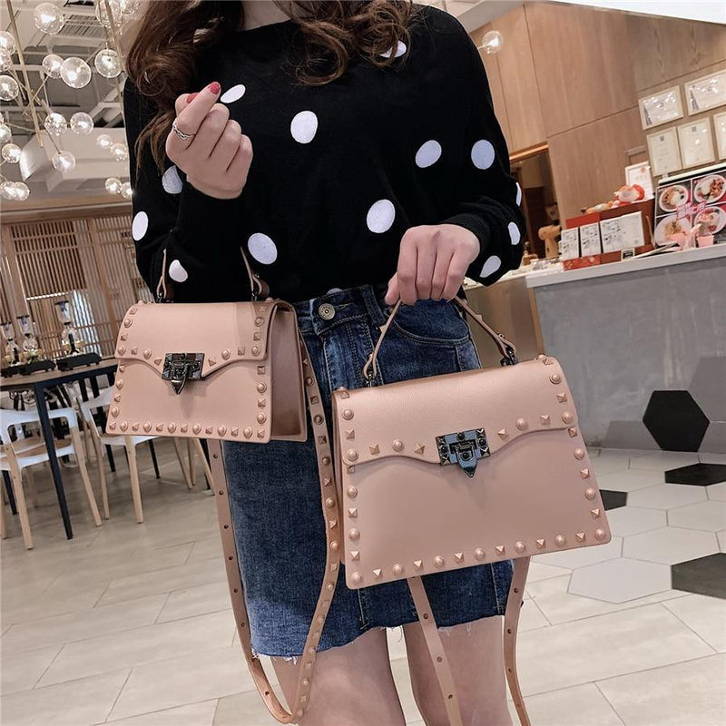 Rivet Handbags Bags freeshipping - looksCares
