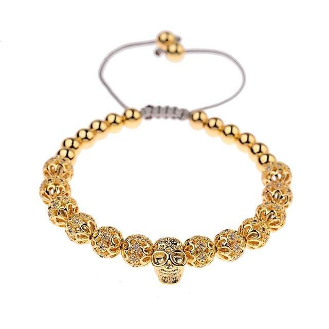 Luxury Crown Beads Bracelet freeshipping - looksCares