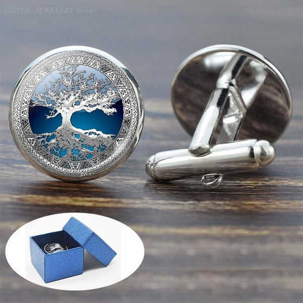 Gorgeous Tree of Life Cufflinks freeshipping - looksCares
