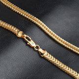 18K Gold Chains Choker Necklace freeshipping - looksCares