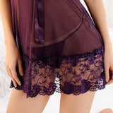 Sexy Lace Lingerie Nightdress freeshipping - looksCares