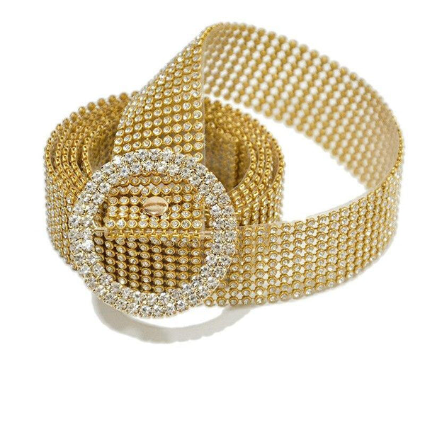 Brilliant Rhinestone Crystal Belt freeshipping - looksCares