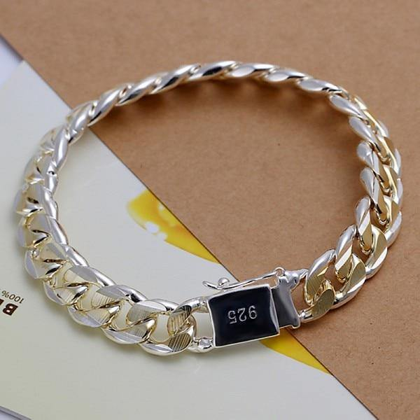 Fine Silver Color Bracelet freeshipping - looksCares