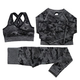 Camouflage High Waist Gym Leggings Pants freeshipping - looksCares