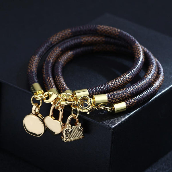 High Quality Leather Bracelet freeshipping - looksCares