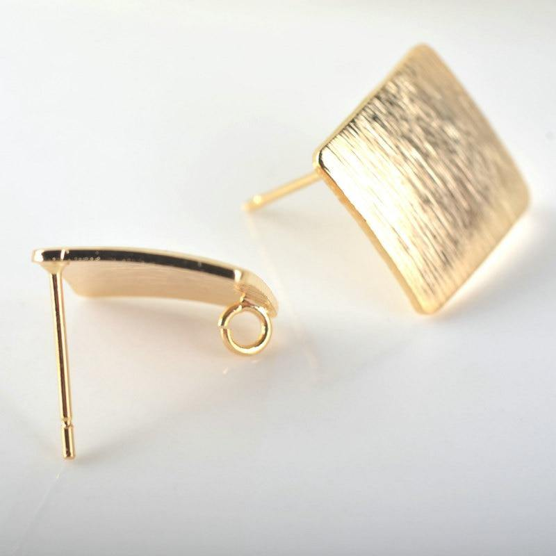 Stud Pins High Earrings freeshipping - looksCares