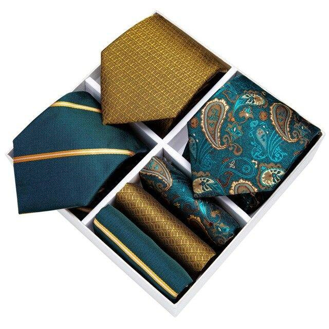 Men's 3 Pack Tie Sets freeshipping - looksCares