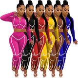 Sexy Bodycon Jogging  Sweatshirt Suit freeshipping - looksCares