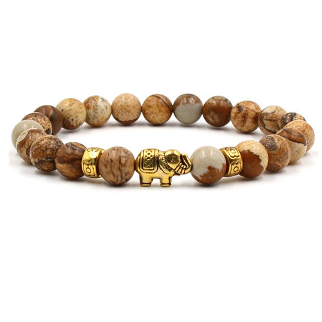 Natural Stone Bracelet freeshipping - looksCares