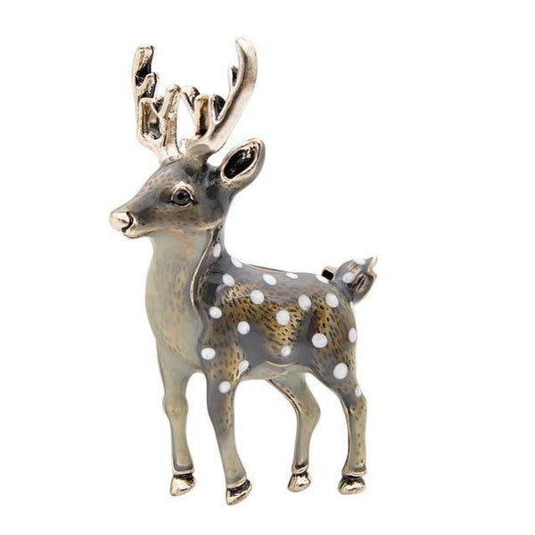 Cute Small Deer Brooch freeshipping - looksCares