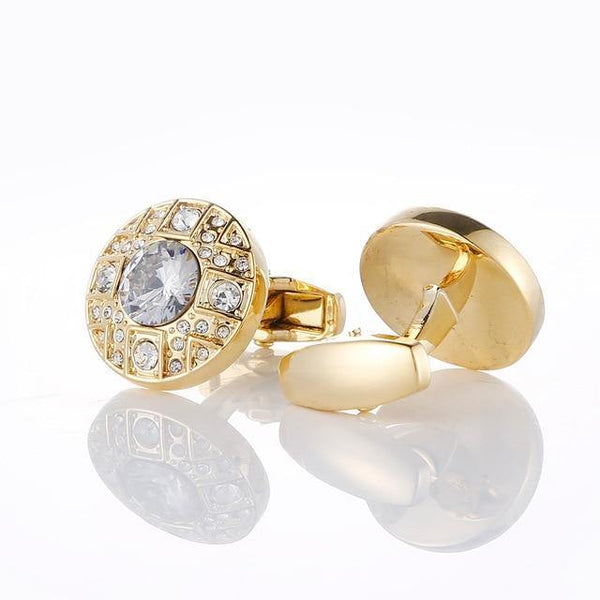 18K Gold Plated Design Luxury Cufflinks freeshipping - looksCares