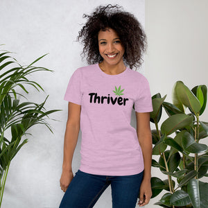 Thrive Thriver Short-Sleeve Unisex T-Shirt