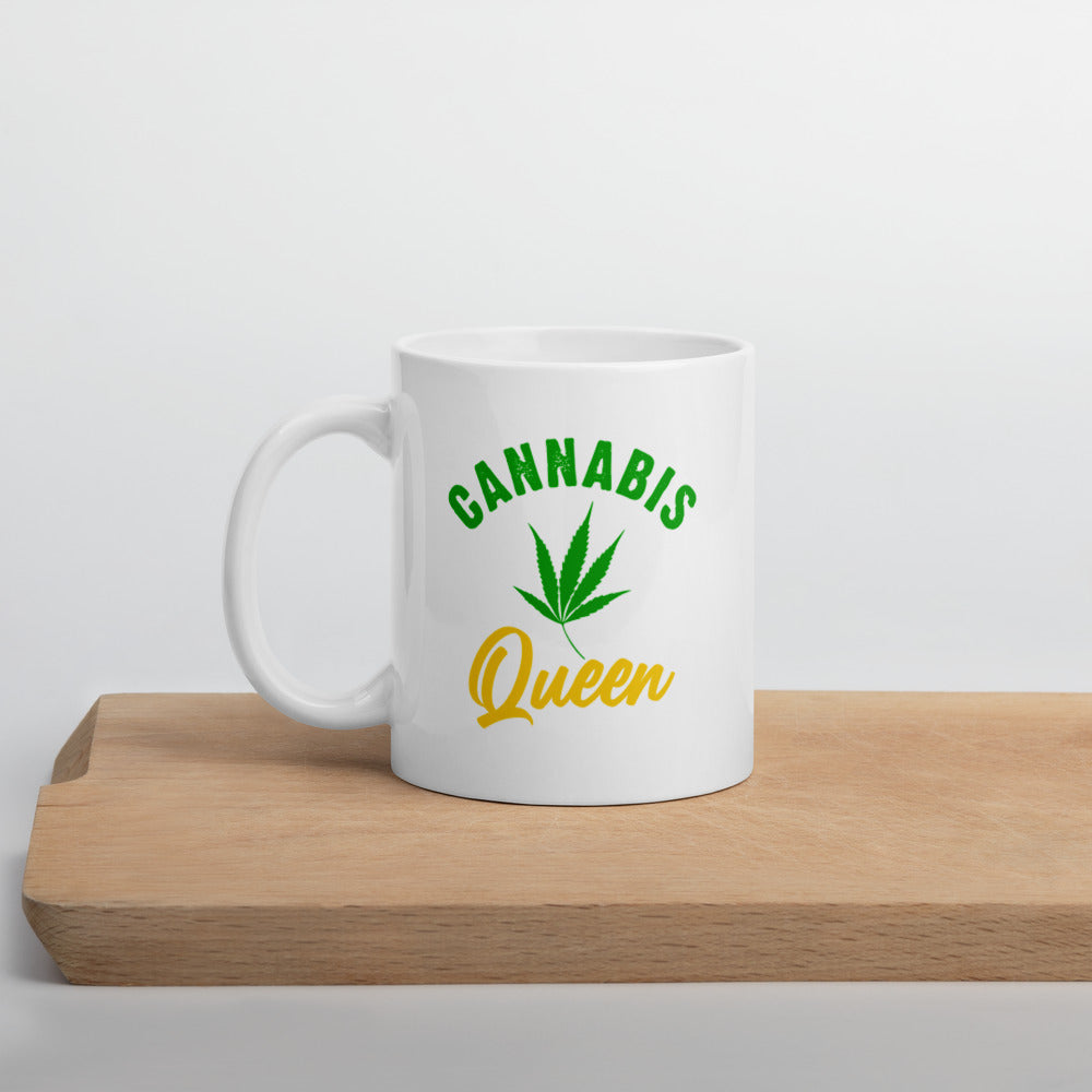 Cannabis Queen Coffee Cup