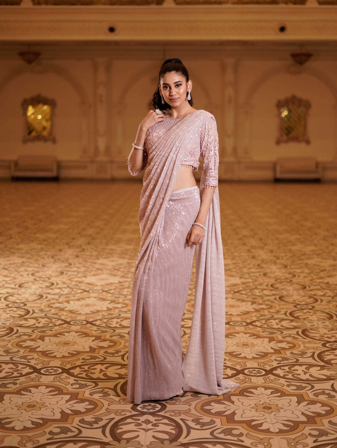 Saree - Dusty Pink 1231