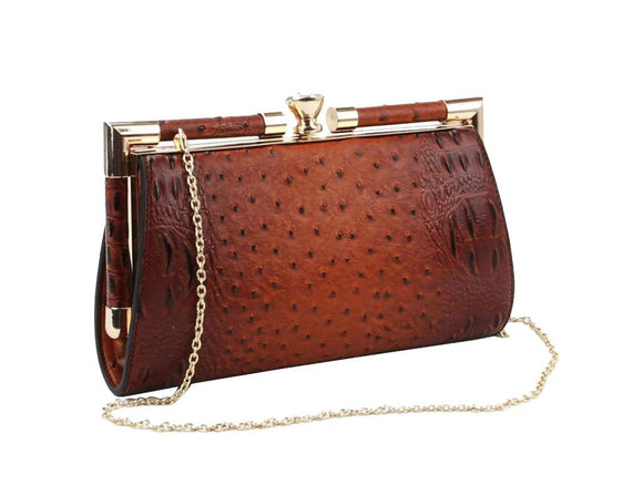 Ollie Clutch - Brown