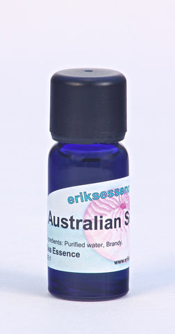 SE 01. Australian Sea Horse -  bluish turquoise Sea Essence. 15ml