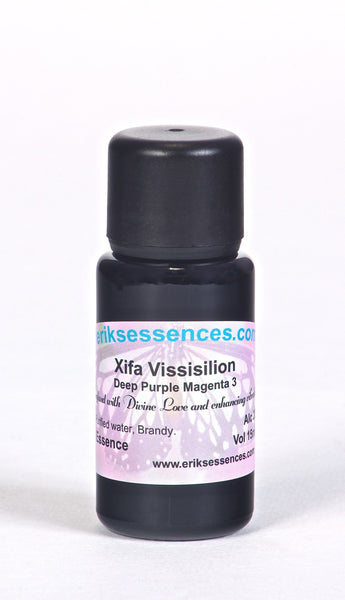 BE 01. Xifa Vissislion - Deep Purple/Magenta 3 Butterfly Essence. 15ml