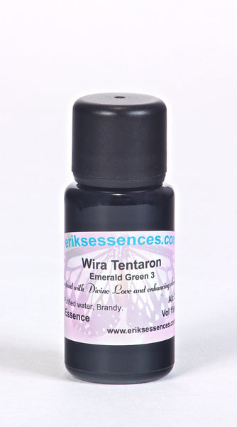 BE 15. Wira Tentaron - Emerald Green 3 Butterfly Essence. 15ml