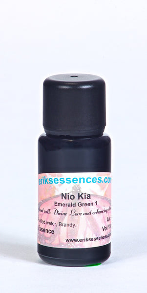 BE 71. NIO KIA – Emerald Green 1 Butterfly Essence. 15ml