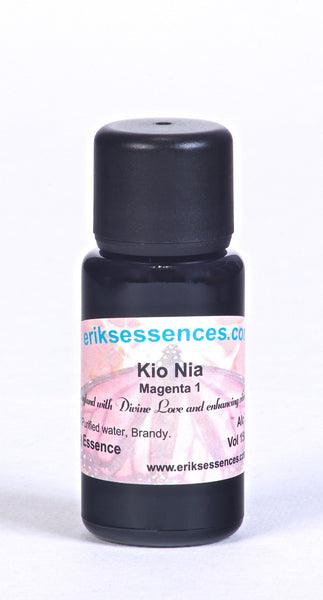 BE 82. KIO NIA – Magenta 1 Butterfly Essence. 15ml
