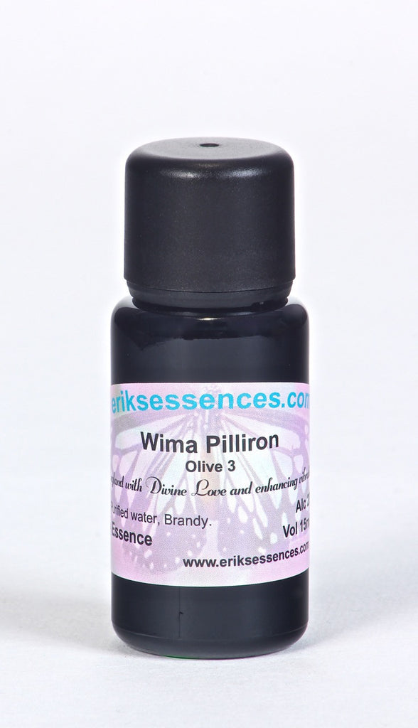 BE 12. Wima Pilliron - Olive 3 Butterfly Essence. 15ml