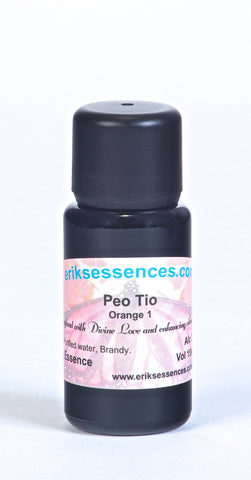 BE 59. PEO TIO – Orange 1 Butterfly Essence. 15ml