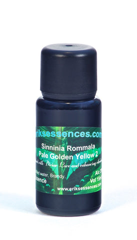 BE 29. Sinninia Rommala – Pale Golden Yellow 2 Butterfly Essence. 15ml