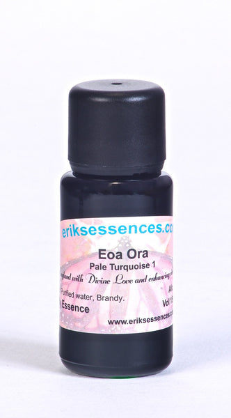 BE73. EOA ORA - Pale Turquoise 1 Butterfly Essence.15ml