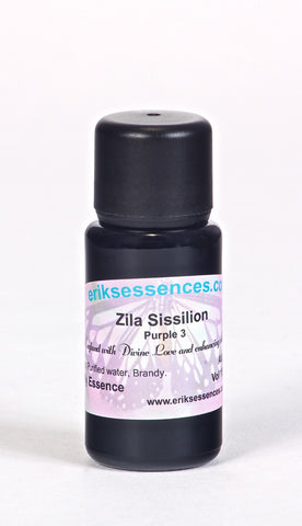 BE 24. Zila Sissilion - Purple 3 Butterfly Essence. 15ml