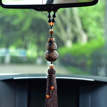 Car Pendant Gourd Brave troops Hanging Ornaments Safety Blessing Decoration Automobiles Interior Rearview Mirror Suspension Trim