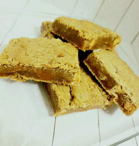 Salted Caramel Blondies - Elegant Impressions Bakery