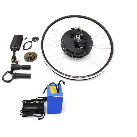 9C - 1500W Hub Motor Kit. (With Battery)
