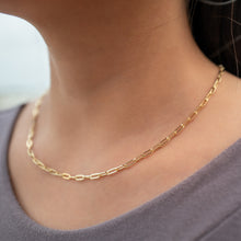 Load image into Gallery viewer, Poder Paperclip Necklace