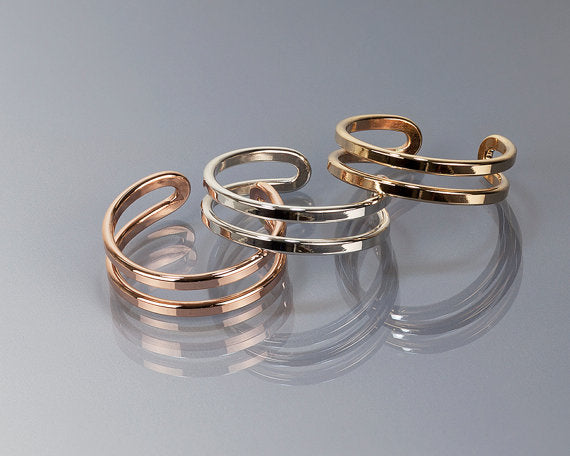 Adjustable Knuckle Cuff Rings