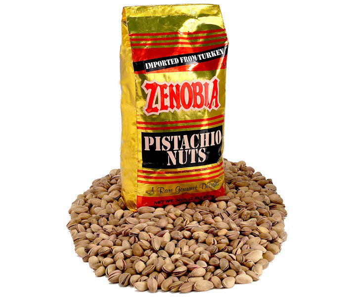 Turkish Pistachios, Two Pound Gold Bag