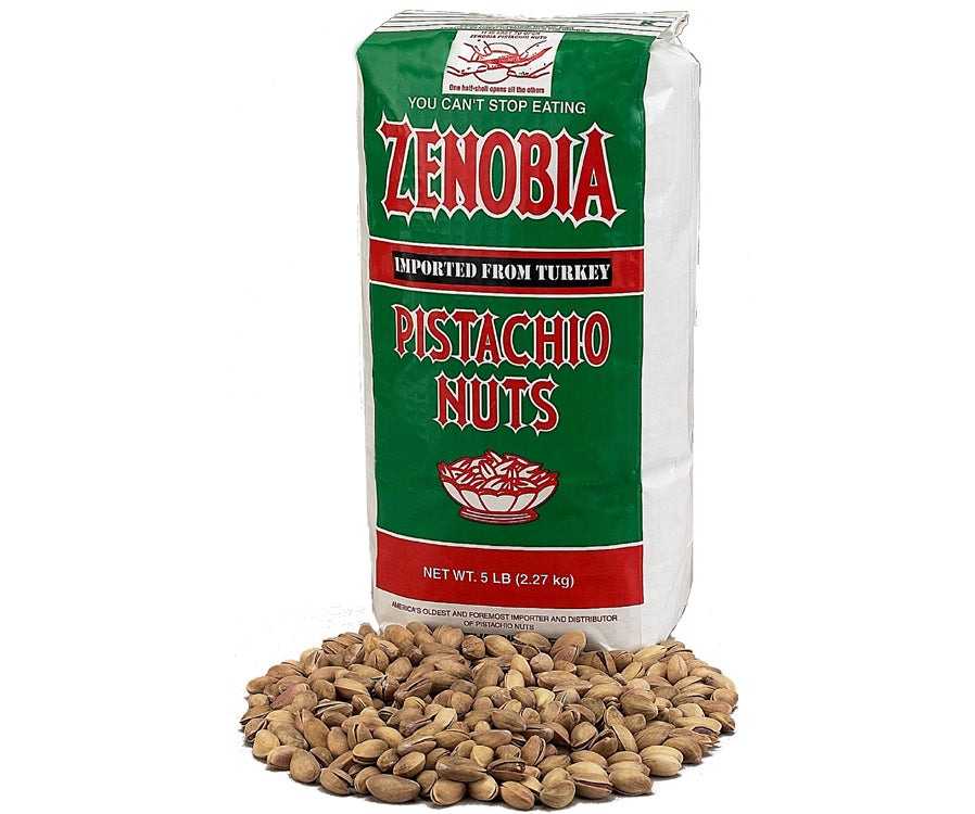 Turkish Pistachios, Five Pound Bag