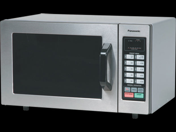 Panasonic 1000 Watt Commercial Microwave Oven with 10 Programmable Memory NE-1054F