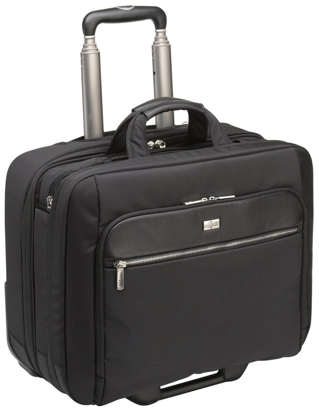 "Case Logic CLRS-117 Black Travel/Luggage Case (Roller) for 17"" Notebook, Travel Essential - Black"
