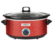 Brentwood Select SC-157R 7 Quart Slow Cooker, Red