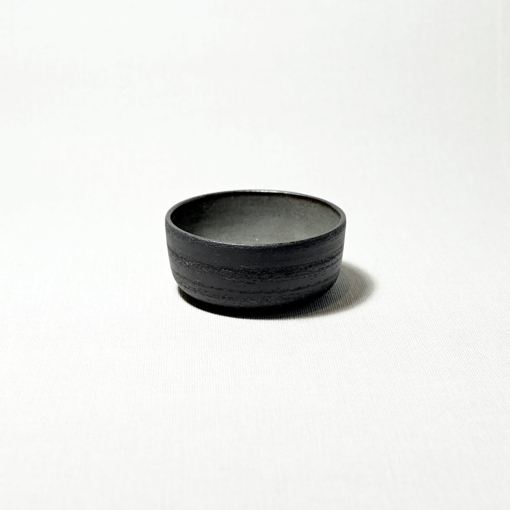 Dip bowl - black gray