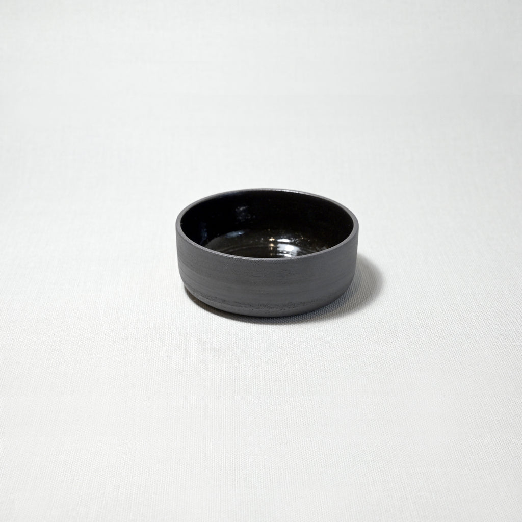 Dip bowl - black gloss